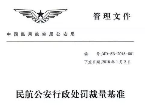 无人机黑飞处罚进行详细法律指引