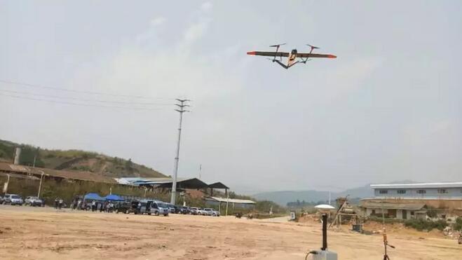 韦加垂直起降无人机参与云南省地质灾害无人机应急测绘保障演练5