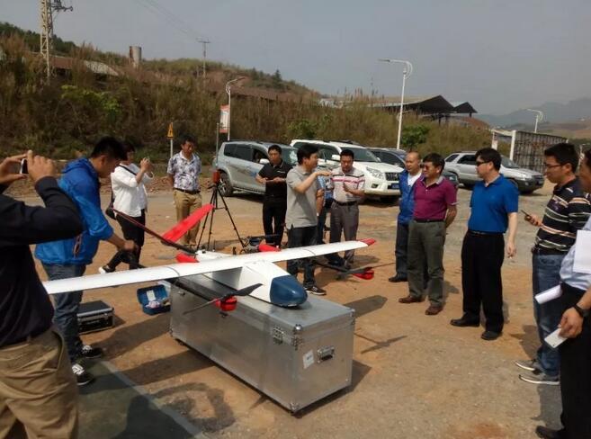 韦加垂直起降无人机参与云南省地质灾害无人机应急测绘保障演练3