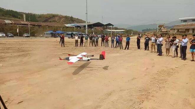 韦加垂直起降无人机参与云南省地质灾害无人机应急测绘保障演练4