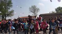 飞在镇原县孟坝镇——韦加无人机与甘肃建院携手帮扶科普活动