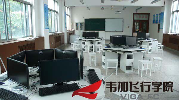 陕西交通技师学院无人机实训室1