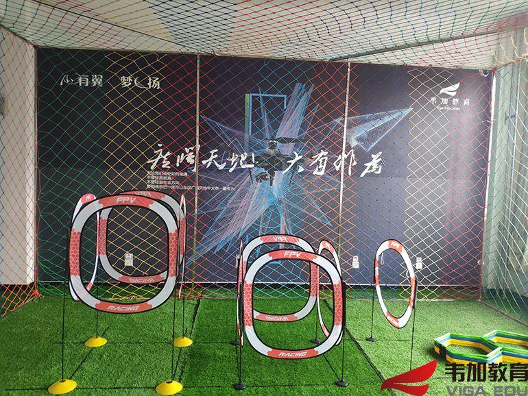 许昌职业技术学院无人机实训室2