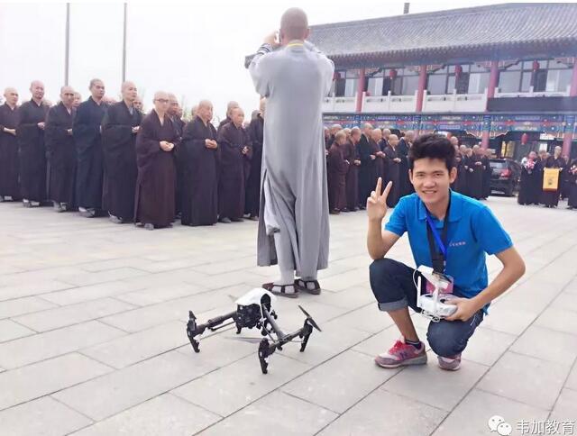 韦加无人机专访第十期无人机培训优秀学员——邱玥