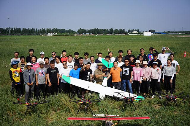 韦加无人机驾驶员培训河北涿州基地第33期培训学员1