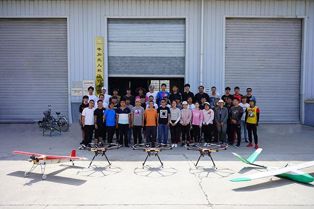韦加无人机驾驶员培训河北涿州基地第33期培训学员2