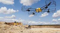 无人机应用在工程机械与库存盘点
