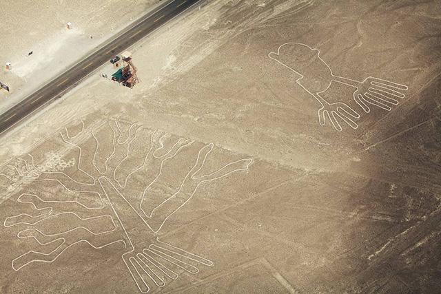 无人机巡山护林&助力研究秘鲁神秘雕刻3