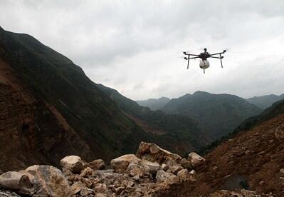 自然灾害面前 无人机救援拥有无限可能1