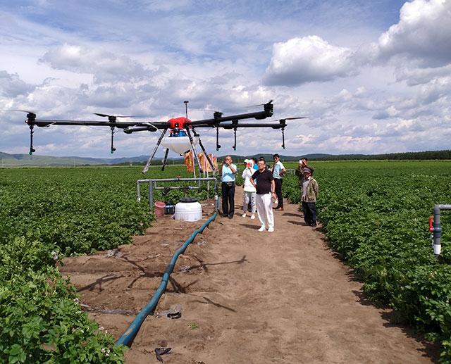 行业应用:无人机植保飞防
