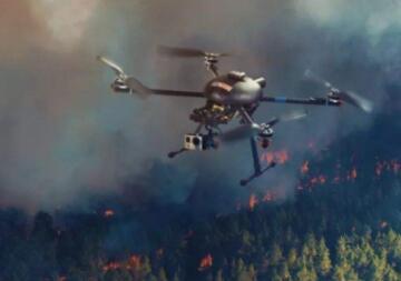 无人机集群可能是未来对抗森林大火的关键一环