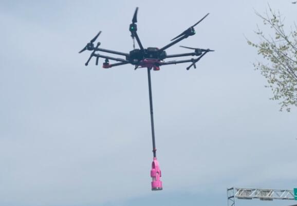 无人机水采样和数据收集系统可以为相关单位节省数百万